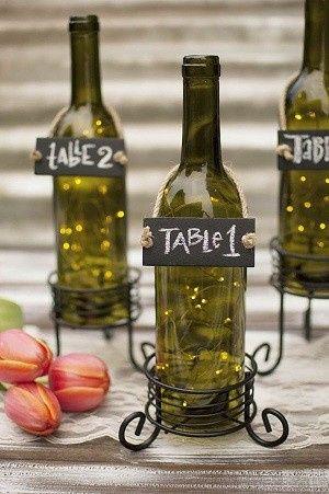 diy Decor Idea: wine bottles 4