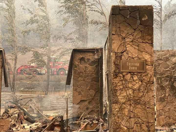 Napa venue fires :( 2