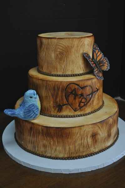 Wedding Cakes Without Flowers 19