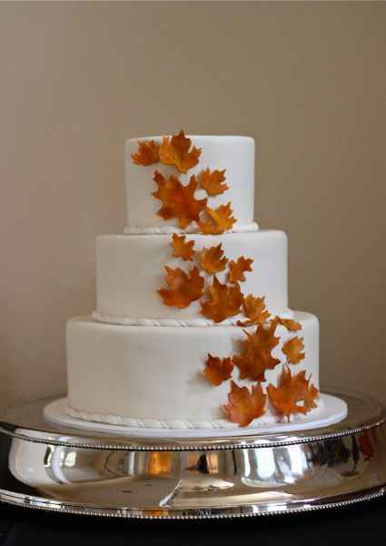 Wedding Cakes Without Flowers 21