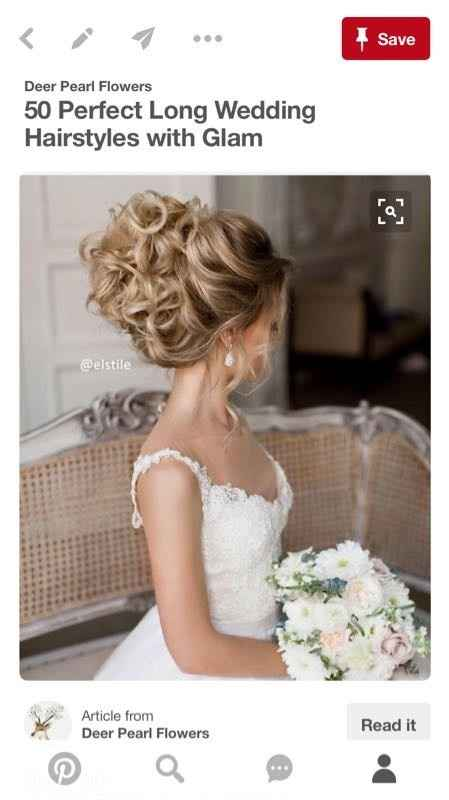 How are you planning to do your hair for the big day?