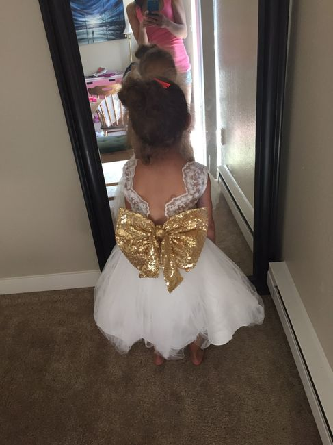 Flower girl dress arrived! (And a Chinese dress review ;))