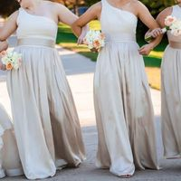 Yes to bridesmaid dresses