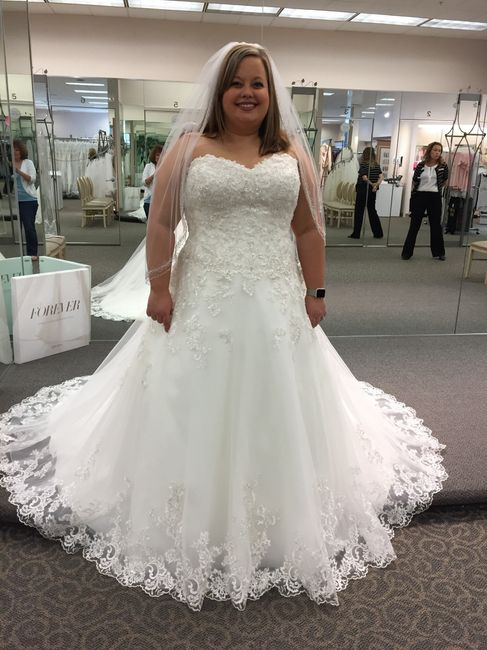 Lace or bling can 39 t decide weddings wedding attire for Can t decide on wedding dress