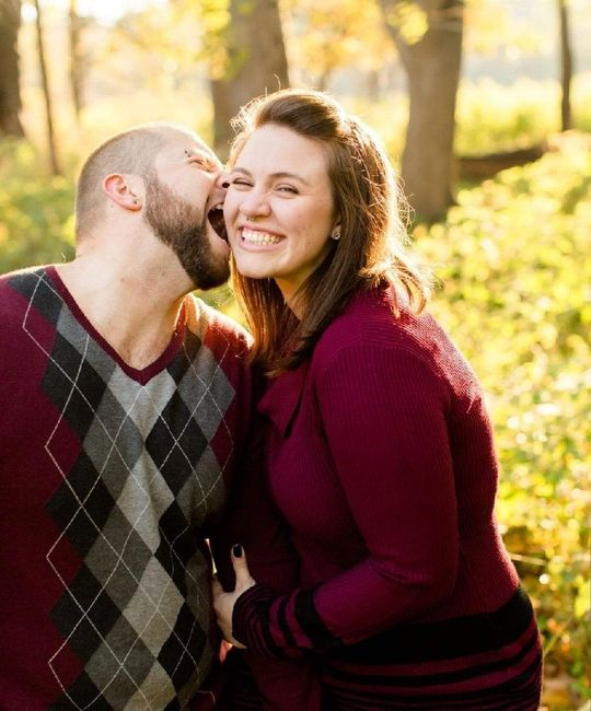 Show off your weird engagement pic 13