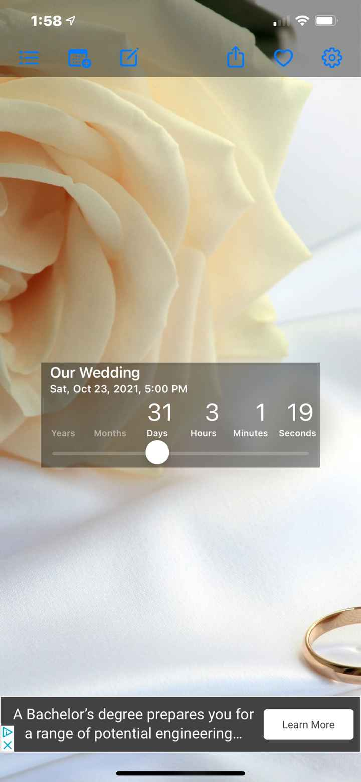 2021 Georgia Brides - How Many Days Left?! Tell us Your City & Venue! - 1