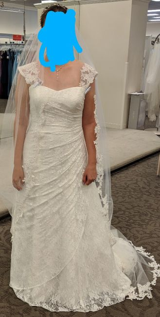 My Wedding dress!! Now let me see yours!! 7