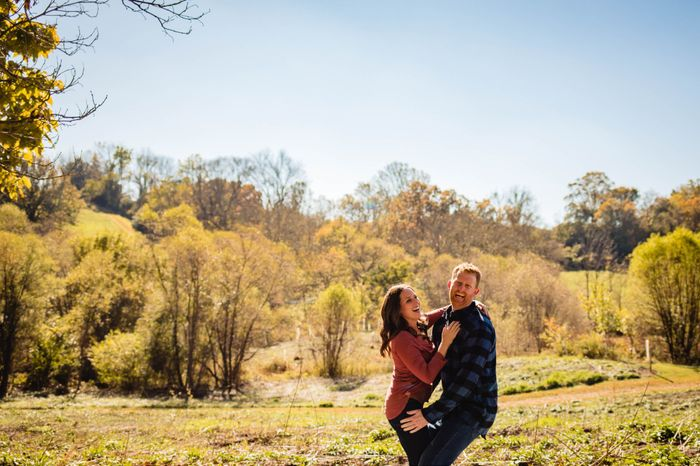 Admidst the Covid-19 panic, post your favorite picture from your engagement shoot. 14