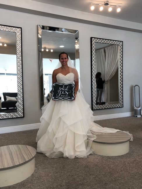 My wedding dress, i absolutely love it, adding sleeves!  Anyone else wearing a ball gown?? 17