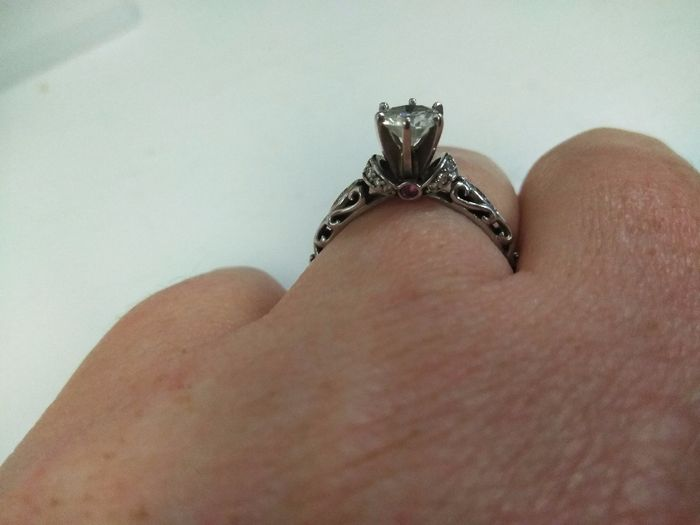 Who else has gemstones in their ring(s)?  Let's see them! 11
