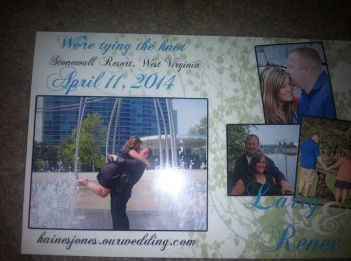 Save the Dates Ordered