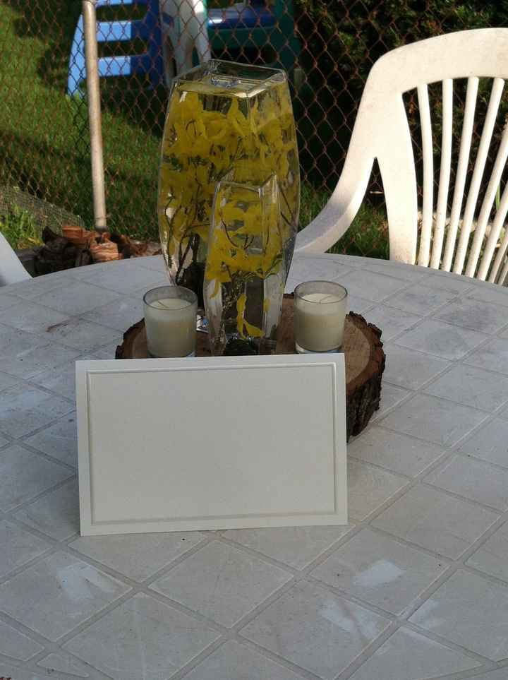 Centerpieces with pictures!