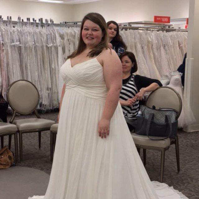 Show me your David's Bridal Dresses 11