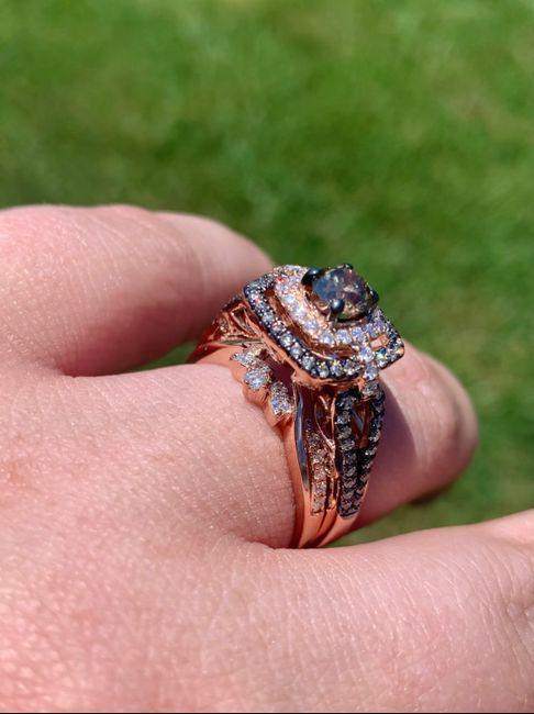 Wedding ring set finished! 1