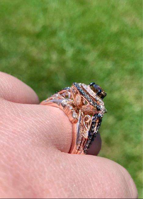 Wedding ring set finished! 2