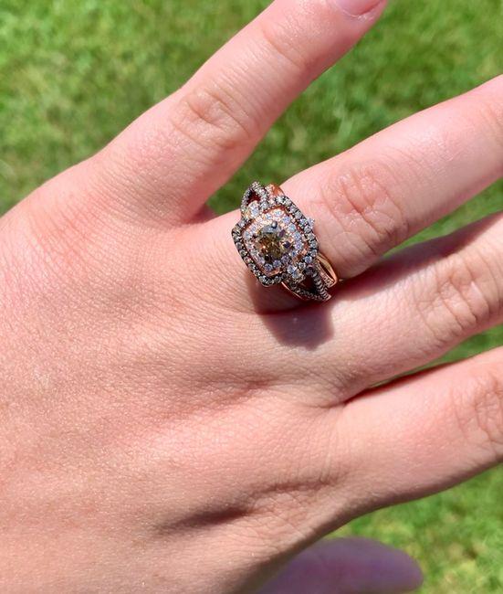 Wedding ring set finished! 3