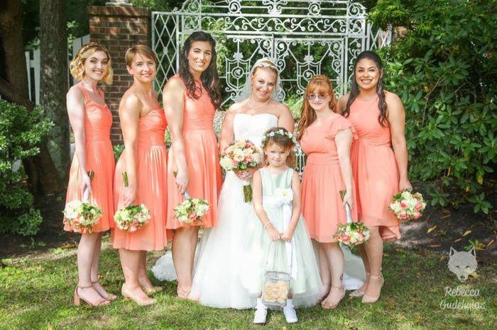 Short Bridemaid Dresses - 1