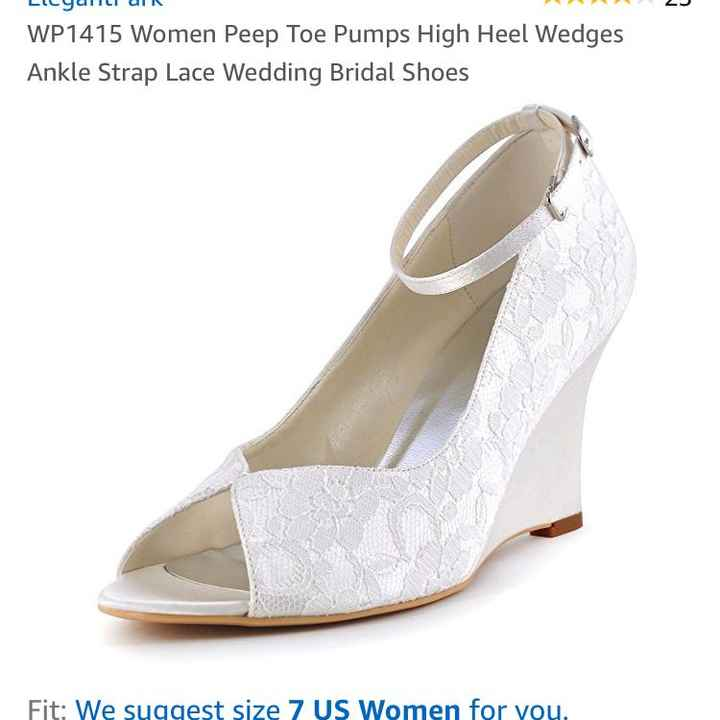 Wedding wedges - 2