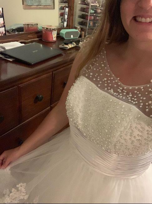 i got my reception dress!!!! 2