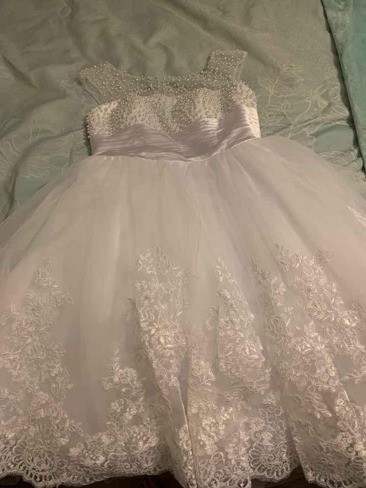 i got my reception dress!!!! - 3