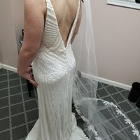 My dress back