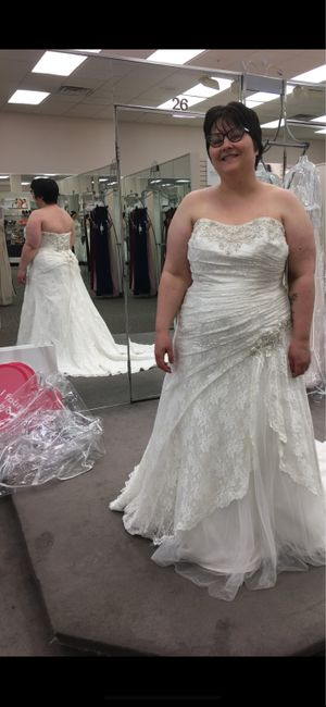 Are you adding a bustle to your dress? Advice needed. 1