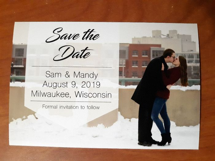 show me your save the Dates!! 7