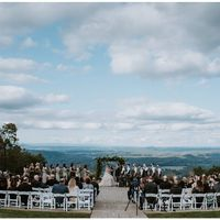My venue / Someone else's wedding.