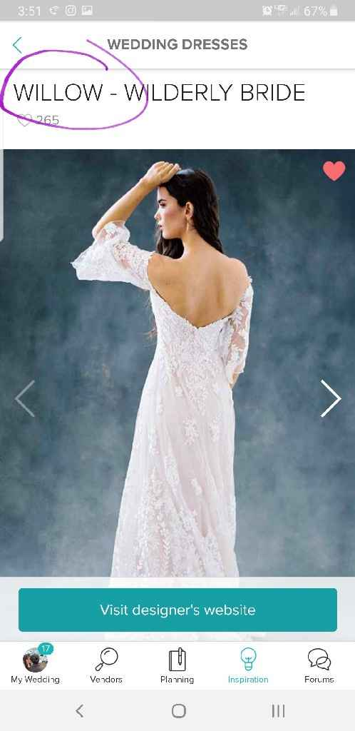 Dress prices are not accurate, how can i notify Wedding Wire? - 1