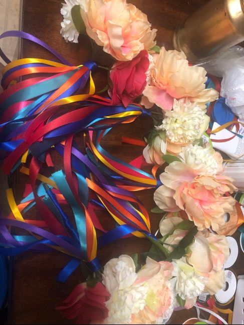 Finished Bridal party bouquets ❤️ 2