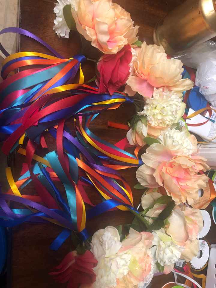 Finished Bridal party bouquets ❤️ - 2