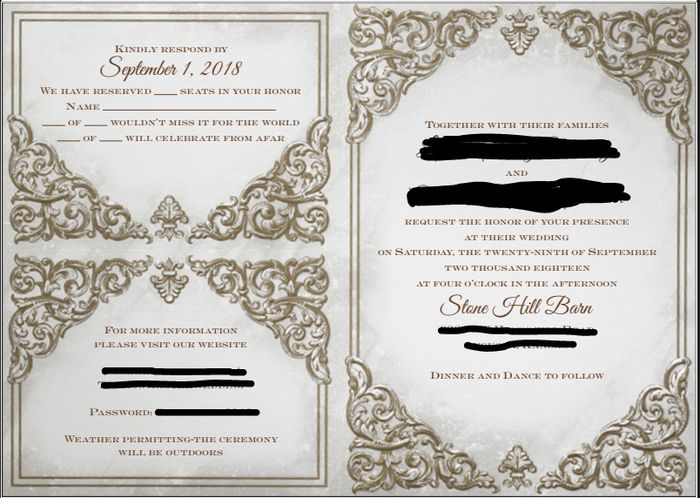 Invite Proof Advice? 1