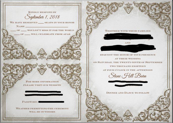 Invite Proof Advice? 1