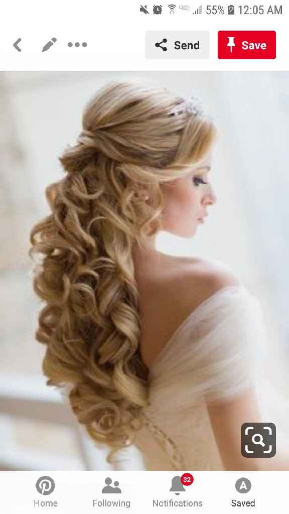 How did you wear your Hair for your wedding? - 2