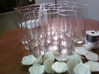 Vases And Floating Candles And Ceremony Programs Weddings Do It