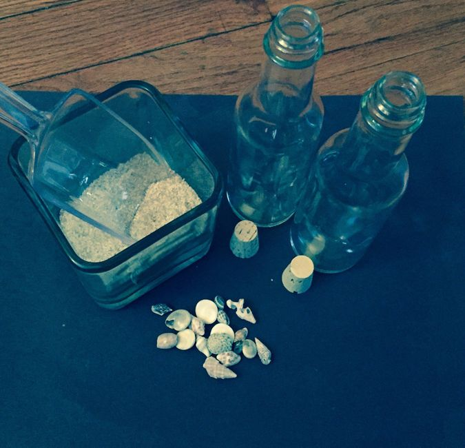 DIY Message In A Bottle Invitations