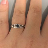Show Me Your...Non Diamond Engagement Ring