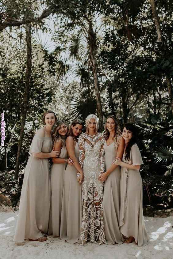 Undecided between colors for boho beach wedding fall - 7