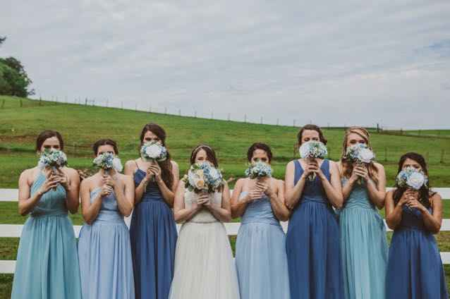 Let's talk bridesmaid dresses - Who, What, Where? - 1