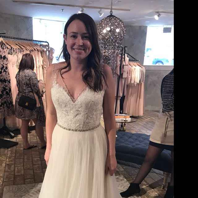 #TBT - throw back to when you said yes to the dress! - 1