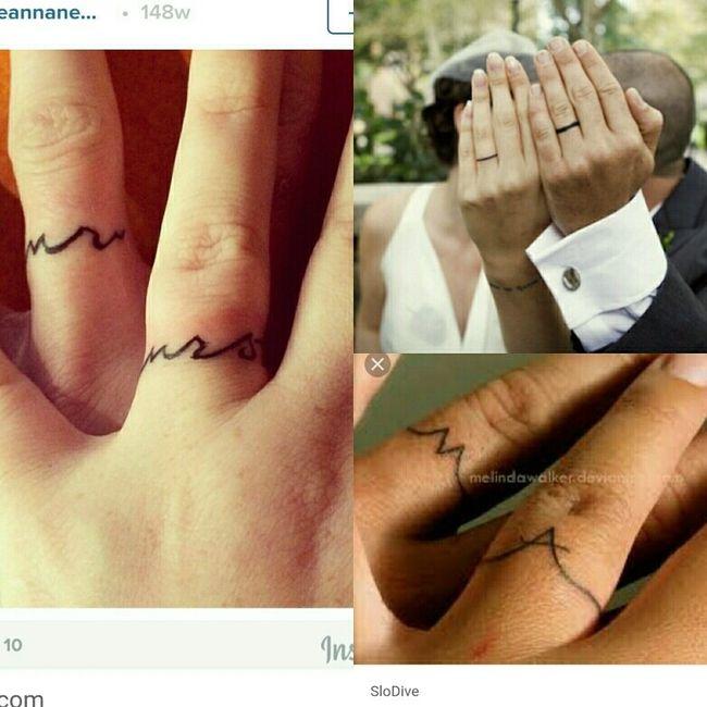 6a309caba Vote: wedding ring tattoo ideas | Weddings, Wedding Attire | Wedding ...