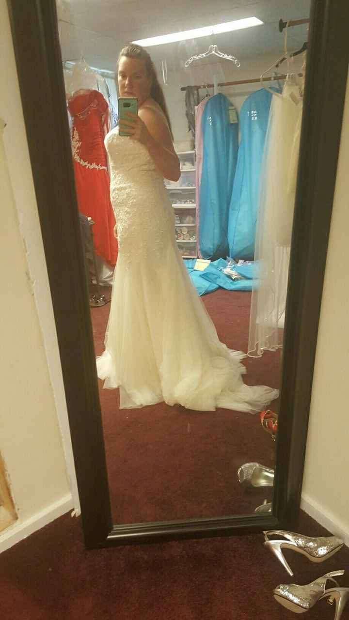 wearing shape wear under wedding dress