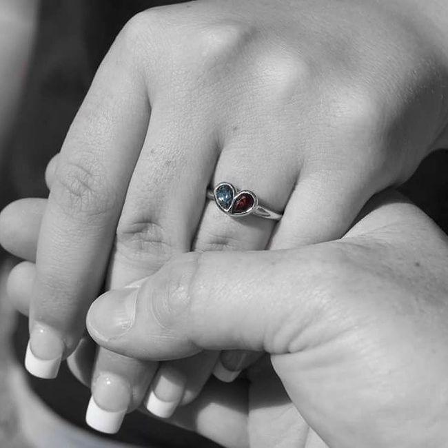 Show me your unique engagement rings! 12