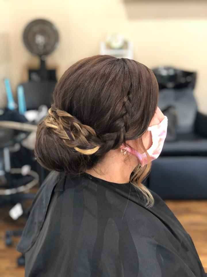 10/24/2020! 31 days to go! Wedding hair trial! - 1