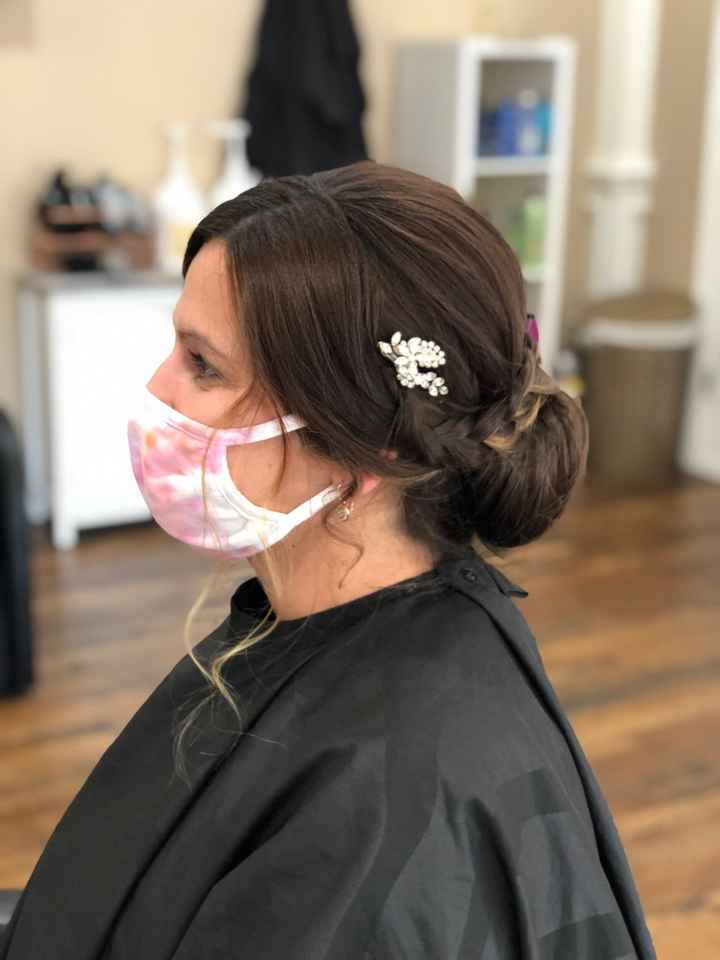 10/24/2020! 31 days to go! Wedding hair trial! - 2