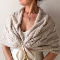 shawl style, but chunky