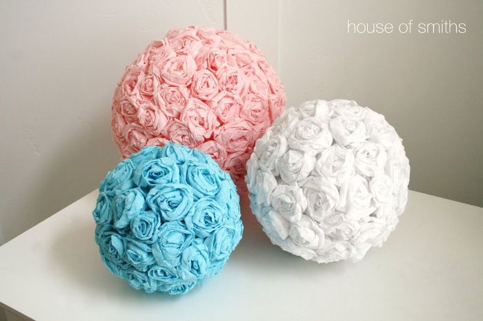Paper tissue flowers weddings do it yourself wedding forums paper tissue flowers mightylinksfo