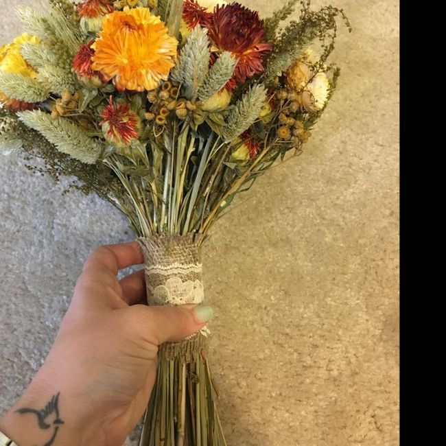 Dried Flowers - Any Experience? - 2