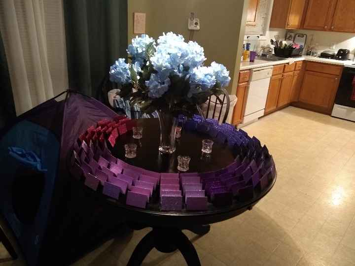 Place Card Table - 2