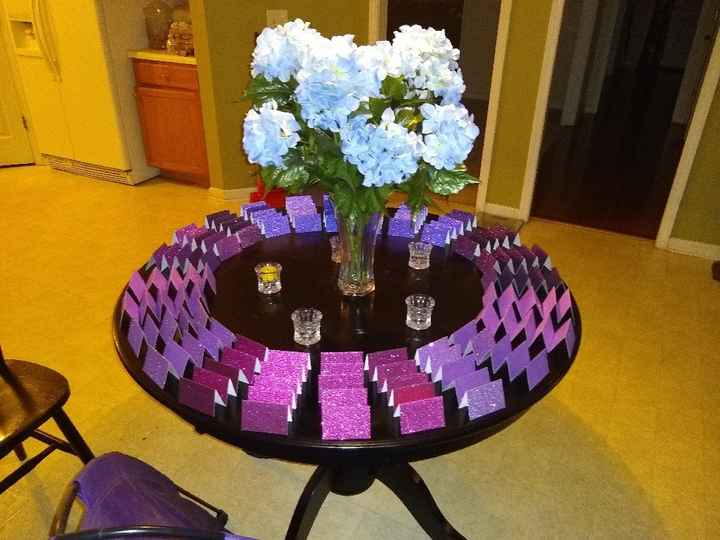 Place Card Table - 3
